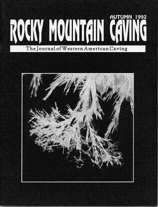 Rocky Mountain Caving Autumn 1992