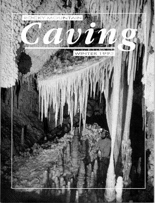 Rocky Mountain Caving Winter 1993