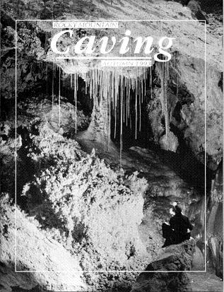 Rocky Mountain Caving Autumn 1993