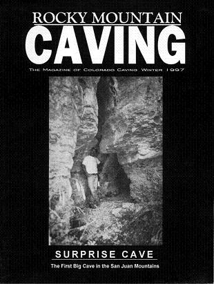 Rocky Mountain Caving Winter 1997