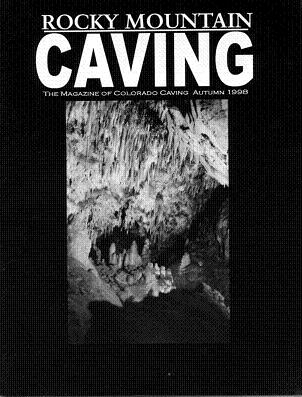 Rocky Mountain Caving Autumn 1998
