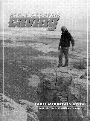 Rocky Mountain Caving Winter 2005