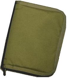 Tan Field Binder Cordura Cover