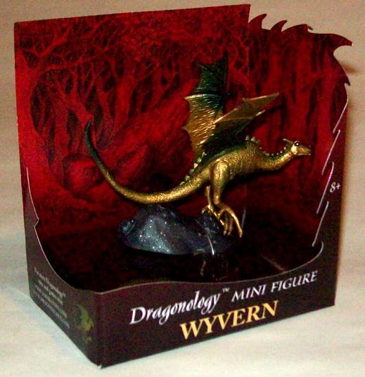 Dragonology Wyvern Mini Figure