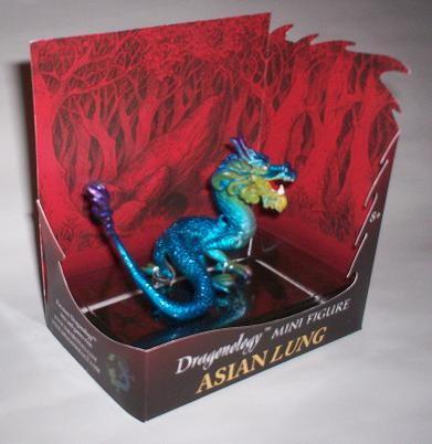 Dragonology Asian Lung Mini Figure