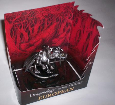 Dragonology European Dragon Mini Figure