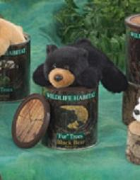 Black Bear in a Can
