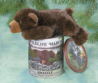 Grizzly Bear in a Can