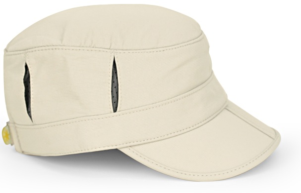 Kids Sun Tripper Cap, Baby Cream/Gray