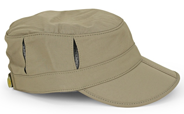 Kids Sun Tripper Cap, Baby Juniper/Gray