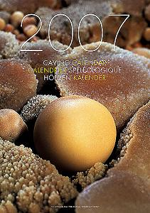 2007 Speleo Projects International Caving Calendar
