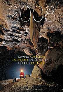 2008 Speleo Projects International Caving Calendar