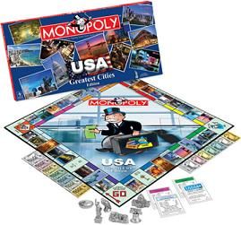 USA Great Cities Monopoly