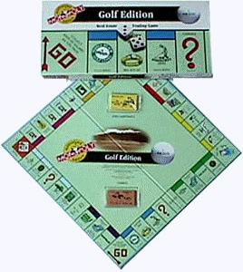 Golf Edition Monopoly
