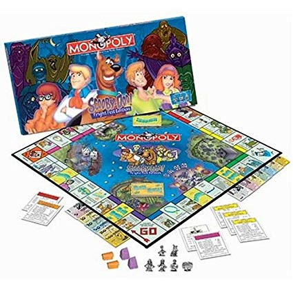 Scooby-Doo Fright Fest Edition Monopoly