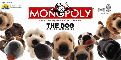 The Dog Monopoly - Artlist Collection