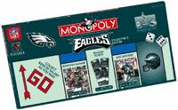 Philadelphia Eagles Collector's Edition Monopoly