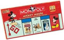 Mickey Mouse 75th Anniversary Monopoly (rectangular)