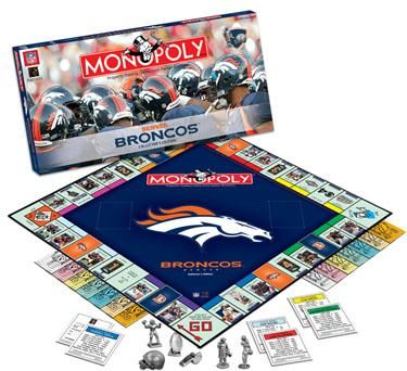 Denver Broncos Collector's Edition Monopoly