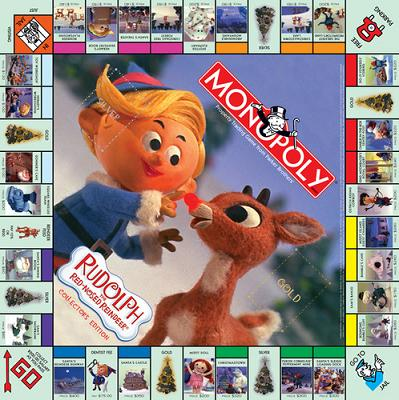 Rudolph the Red-Nosed Reindeer Monopoly (square)