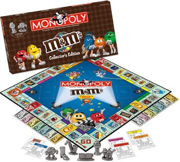 M&M's Collector's Edition Monopoly