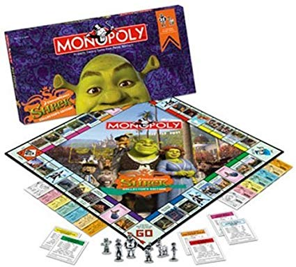 Shrek Collector's Edition Monopoly