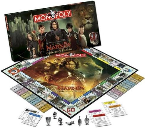 The Chronicles of Narnia Collector's Edition Monopoly