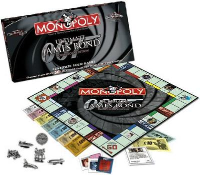 Ultimate James Bond Collector's Edition Monopoly