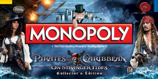 Pirates of the Caribbean On Stranger Tides Colletor's Edition Monopoly