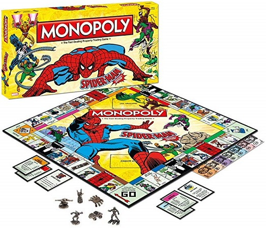 Spider-Man Collector's Edition Monopoly