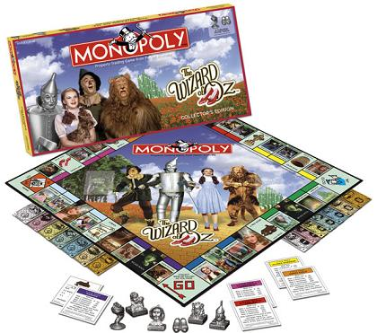 The Wizard of Oz Collector's Edition Monopoly