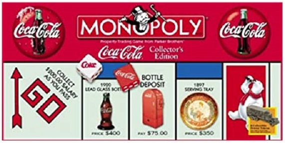 Coca-Cola Collector's Edition Monopoly