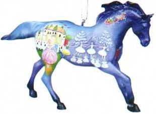 Nutcracker Pony Ornament