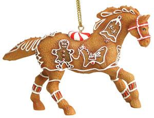 Gingerbread Pony Ornament