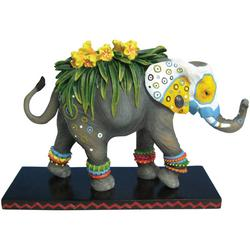 Painted Flower Elephant