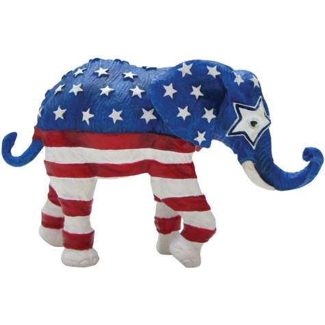 Patriotic Mini Elephant