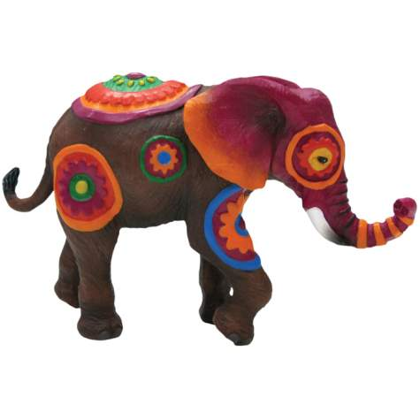 African Flowers Mini Elephant