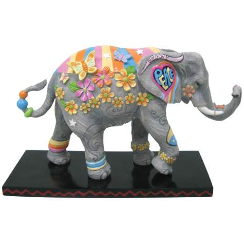 Flower Power Elephant