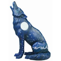 Howling Moon Wolf