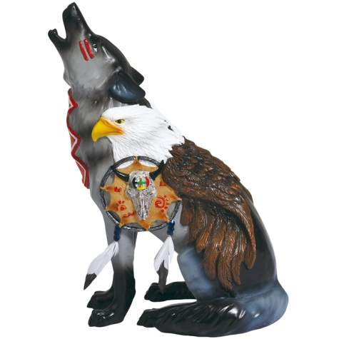Under Eagle's Wings Wolf