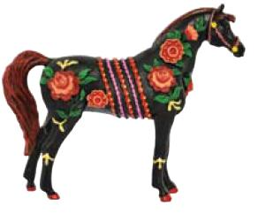 Russian Folk Art Arabian