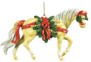 Pine Bundles Quarter Horse Ornament