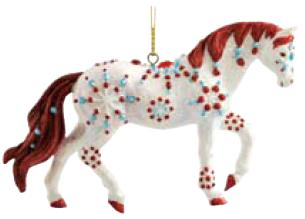 Jewel Quarter Horse Ornament
