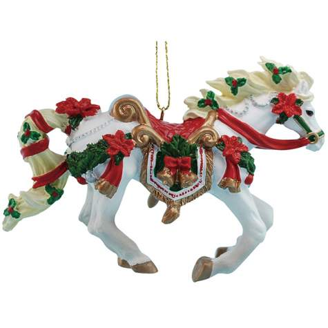 Christmas Carousel Thoroughbred Ornament