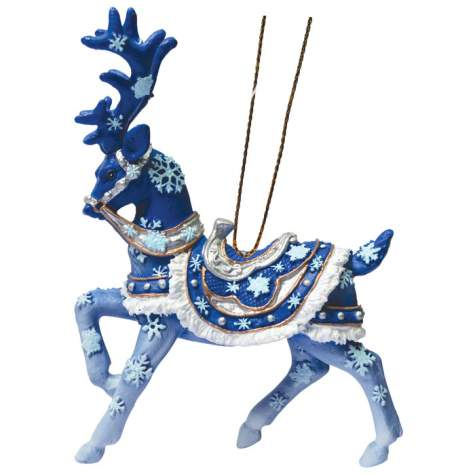 Dashing Through the Snow Reindeer Ornament