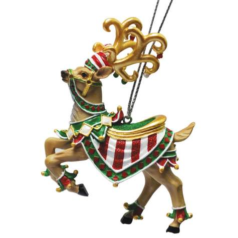 Elf-Help Expert Reindeer Ornament