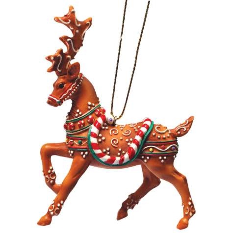 Fly Fly As Fast As You Can Reindeer Ornament