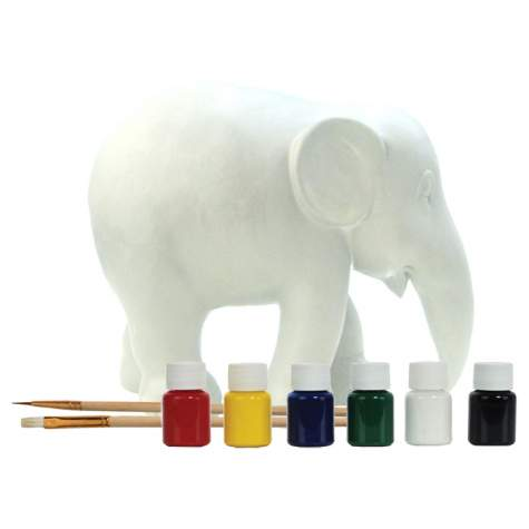 Artbox - Paint Your Own Elephant Figurine