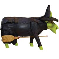 Udderly Witched Cow