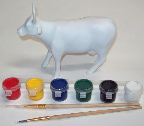 Paint Your Own Cow Parade